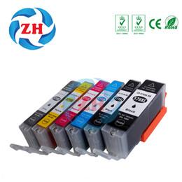 Wholesale Pixma Ink Cartridges - ZH 6 Ink Cartridges 570XL 571XL Compatible for Canon PGI570 CLI571 Pixma Set MG5750 MG5751 MG5752 MG5753 Printer