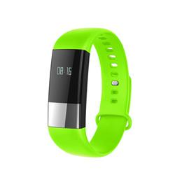 Herzfrequenz schlaf tracker online-SENBONO M4 Sport Smart Armband Dynamische Herzfrequenz-Blutdruckmessgerät Schlaf Tracker Anruferinnerung Wasserdichte Smart Band DHL