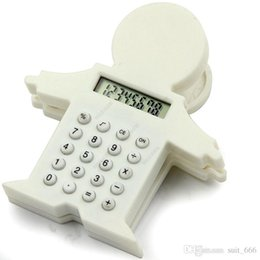 Wholesale Wholesale Clock Supplies - Cute villain manufacturers supply calculators, baby calculators, clip calculator, gift calculator