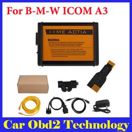 Wholesale Get Free Cable - Best Quality For BMW ICOM A3 Professional Diagnostic Tool Hardware V1.37 Get Free B-M-W 20Pin Cable by DHL Free Shipping