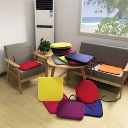 Wholesale Gardens Sofa - 40*40cm Indoor Outdoor Garden Solid Cushion Pillow Patio Home Kitchen Office Car Sofa Chair Seat Soft Cushion Comfortable and Soft