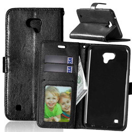 Wholesale Photo Ds - Case for LG X Cam K580 K 580 580DS DS XCam K580DS Flip Case Photo Frame Phone Leather Cover for LG X Cam K580Y K580DY 580DY DY