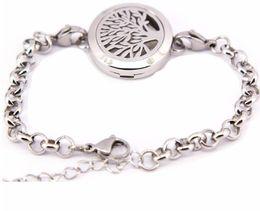 Wholesale Dhl Free Shipping Bracelet - 2016 New Fashion Aromatherapy Bracelet 316L s.steel Essential Oils Diffuser Locket Bangle 7''-8''wrist dhl ups Free Shipping