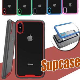 Wholesale Beatles Cases - For iPhone X Supcase Strong ARMOR Shock Drop Proof Anti Scratch Clear Panel Slim Protection Beatles Classic Hot Cover Case For Samsung S8