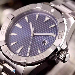 Wholesale Stainless Steel Bands For Watches - Special Edition Automatic Watch For Men Blue Dial stainless steel Band Stainless Syeel Casual Mechanical watches