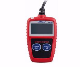2019 obd2 puede bus código escáner Al por mayor-Venta caliente 1 unid KW806 MS309 Autel MaxiScan Lector de código de coche PUEDE BUS OBD 2 OBDII Escáner de diagnóstico obd2 herramienta herramienta de diagnóstico automático rebajas obd2 puede bus código escáner