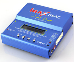 Wholesale Ac Imax - iMAX B6AC Lipo NiMH Battery Balance Charger Dischager Built-in AC Adapter