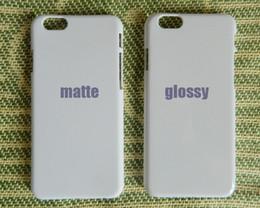 Wholesale Iphone 5c Plastic Matte - Matte Glossy For Apple iPhone 4S 5C 5S 6S 6 plus touch 5 touch 6 sublimation 3d blank hard plastic case print custom DIY case 20pcs lot