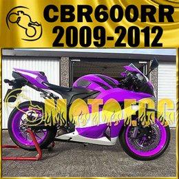 Wholesale Cbr Fairing Kit Purple - Five Gifts Motoegg Fairings Bestselling Injection Mold Kits For Honda CBR600RR 09-12 CBR 600RR 2009-2012 Bodywork Repsol Purple H69M506