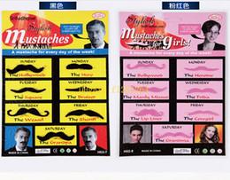 Falsche spiele online-50sets / lot geben Verschiffen-Mann-Frauen-Abendkleid-Partei-Spiel COS Party liefert einen Schnurrbart-falschen Bart feinen Bartbart frei