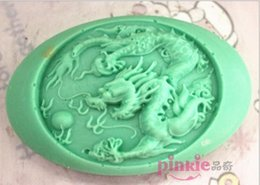 Wholesale Dragon Mold - Dragon Shaped silicone Soap Mold,Resin Clay Chocolate Candy Silicone Cake Mould,Fondant Cake Decorating Tools