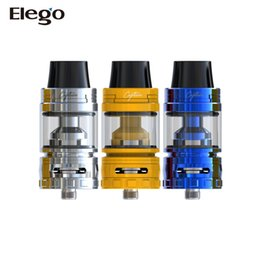 Wholesale Top Less - New!! 100% Original IJOY Captain Mini Subohm Tank 3.2ml Sliding top fill with thread-less coil head design