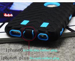 Сверхмощные чехлы для мобильных телефонов онлайн-Китай Оптовая сотовый телефон Case Heavy Duty шин броня Case для iPhone 6/6s мобильный телефон обложка Case