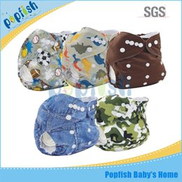 Wholesale Disposable Diapers Nappy - Free Shipping Disposable Diapers China Supplier Washable PUL Mixed Colors One Diaper +One Insert Baby Reusable Nappy