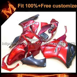 23colors + 8Gifts molde de inyección RED ZX12R 2000 2001 motocicleta carenado carenado para Kawasaki Ninja zx-12r 00-01 desde fabricantes
