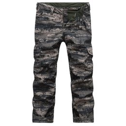 Wholesale Waterproof Camouflage Trousers - Wholesale-2016 New Outdoor men ski pants Camouflage snowboard pants snow pants trousers Sport Hiking waterproof windproof warm Breathable