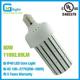 Wholesale Pressure Sodium - LED Street light 80W E39 mogul base 250W high bay fixture high pressure sodium replacement 110V 220V Acorn fixture