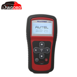 Wholesale Maxitpms Autel - Wholesale-NEW Autel TPMS Diagnostic and Service Tool MaxiTPMS TS401 V2.56 by Fast Express Shipping