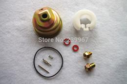 Wholesale Spring For Honda - 2X Carb repair kit for Honda GX110 GX120 GX140 GX160 GX200 GXV120-140-160 bowl gasket float pin screw washer needle valve spring