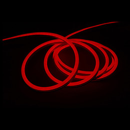 tira flexible led naranja Rebajas Mini caja fuerte 24V led luces de neón flex 20 cm 8 pulgadas unidad de corte led letreros de neón para club nocturno hotel bar fiesta de navidad