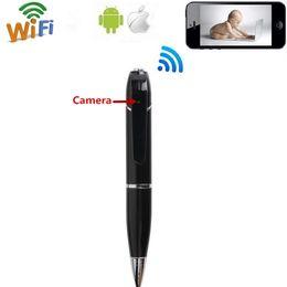 Wholesale Video Camera Business - 32GB Spy DVR Business Portable HD 720P Hidden Video Recorder Spy Pen Wifi Pen Camera Support App Remote View