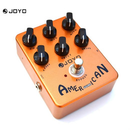 Wholesale Mooer Guitar Pedals - JOYO American Sound Electric Guitar Effect Pedal Reproduces The Sound&Mooer Performs Great From Clean Driven