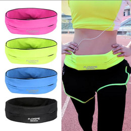 Wholesale Universal Sports Lighting - Sport Running Waist Belt Pocket Pouch Case Bag For iPhone 7 Plus 6 6S 5 5S Samsung Galaxy S7 Universal 5.5 inch