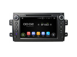 Wholesale Digital Tv Dvd Player - 8'' Quad Core Android 5.1 Car DVD Player For Suzuki SX4 2006 2007 2008 2009 2010 2011 2012 With Radio Stereo GPS