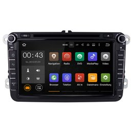 Wholesale Skoda Din Android - Joyous 2 Din Android 5.1 Quad Core 16GB 1024*600 Car DVD Player Stereo Navigation For VW Skoda POLO GOLF PASSAT CC JETTA TIGUAN(with canbus)