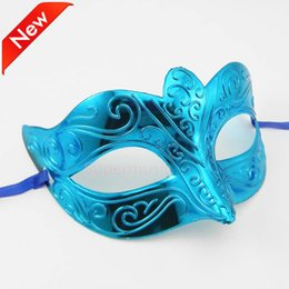 Wholesale Glitter Masquerade Masks - DHL Shipping Free Promotion Selling Party Mask With Gold Glitter Mask Venetian Unisex Sparkle Masquerade Venetian Mask Mardi Gras Costume