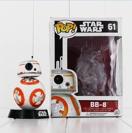Wholesale Star Wars Droid - Star Wars BB-8 BB8 Figure Toys The Force Awakens Droid Robot PVC Action Figures Toys 10cm Free Shipping