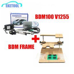 Wholesale Programme Ecu - Best Match BDM100 V1255+BDM FRAME ONE Set OBDII ECU Chip Tuning Programming ECU Reader Works BDM Programmer Full Adapters