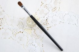 Wholesale New Arrived Makeup Sets - 2016 Brand New Arrive Professional Long Handle Sculpt Soft Nylon Hair Eye Contour Concealer Makeup Brush Eye shadow brush 673