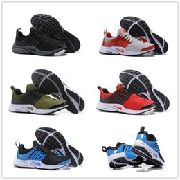 Wholesale Winter Essentials - 2018 Hot Sale Airs Presto Mens Running shoes for High quality Fashion Mesh Essential Casual Athletic Sneakers Size 40-46 Free Shipping