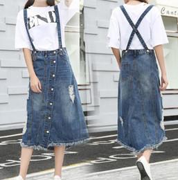 Denim Long Skirt Sale Reviews   Korean Girl Long Skirt Fashion ...