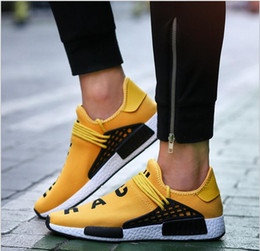 Wholesale Cheap Gingham - 2017 New Human Race Pharrell Williams X NMD Sports Running Shoes,discount Cheap top Athletic mens Outdoor Boost Training Sneaker Shoes