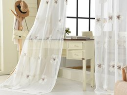 Wholesale Door Hotel - Sheer Curtain - Sheer Voile - White - Luxurious - High Thread - Window Curtains, Flow