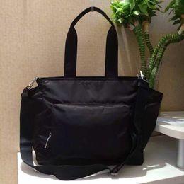 Argentina 4102 Bolso tote bolso mami de tela negra con funda de botella metast y fedding bolsa messanger Suministro