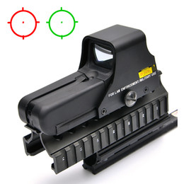 Wholesale Mini Red Dot Sights - 552 Holographic Red And Green Dot Tactical Riflescope Sniper Sight Mini Scope Optical Rifle Sights