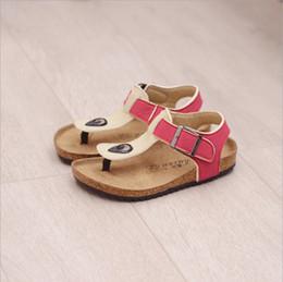 Wholesale Girls Black School Shoes - Summer Style Man Beach Boys Sandals Girls Sandals tenis infantil menina Sandalias mini melissa Kids Shoes Girl Sandale School 15-25.2 cm