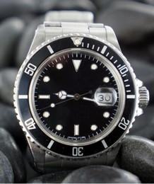 Relojes de lujo de la venta caliente del envío libre de los hombres automáticos de la fecha del auto de la inmersión del acero inoxidable de la zambullida desde fabricantes