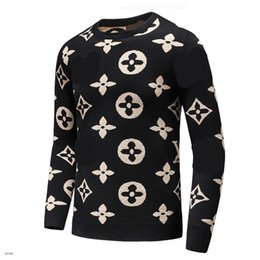 Wholesale T Shirts Styles For Men - Brand Men's sweaters t shirt high quality men sweater size m-3XL 2017 new designer style fashion Luxury clothes for free shipping
