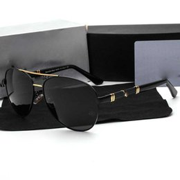 Wholesale Designer Sunglasses Ray Brand - New Brand Men's Designer Sunglasses With Hd Polarized Glasses For Men High Quality Brands Luxury Sun Glasses Driving Rays UV400 Protection