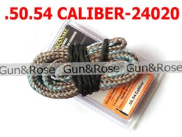 Wholesale Rifle Barrel Cleaning Snake - Free shipping .50 .54 Cal Bore Snake 12.5mm Rifle Barrel Brass Wire Brush Cleaner 24020 Hunting Gun Cleaning