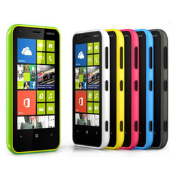 Wholesale Cellphone Inches - 2016 Original Refurbished Nokia Lumia 620 Windows Phone 3.8 inch 8 Dual-core 1GHz 512M 8G Camera 5MP Wifi GPS NFC Cellphone in stock