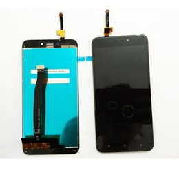 Wholesale Xiaomi Touch Screen - Mobile Phone LCD Display Digitizer Touch Screen Assembly Spare Parts For Xiaomi Redmi 4X With Different Colors