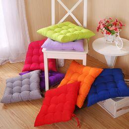 Cadeira de escritório almofadas de assento on-line-Almofada nenhum desvanecimento Pad Durable Indoor Home Office Car Chair sofá macio Almofadas Multi Color Opcional 4pj F R