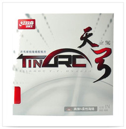 Wholesale Dhs Tennis Balls - DHS TINARC table tennis ball rubber double happiness pingpang rubber