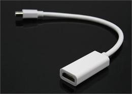 port macbook pro thunderbolt Promotion Nouveau câble adaptateur port Thunderbolt Mini DisplayPort haute qualité DP vers HDMI pour Apple Mac MacBook Pro Air