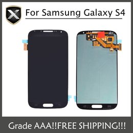 Wholesale I545 Screen - Grade AAA+ For Samsung Galaxy S4 LCD Samsung i9500 I337 I545 I9502 I9505 E300K E300S Lcd Display With Touch Screen&Free Shipping